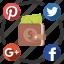 budget, media, send, share, social icon