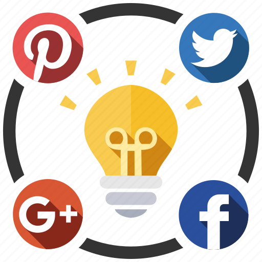 ideas, media, send, share, social icon