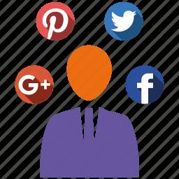 media, pro, send, share, social icon