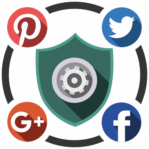 media, securtity, send, share, social icon