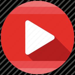 send, share, video icon