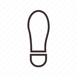 clue, follow, footprint icon