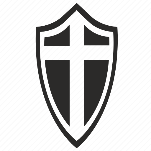 christian, shield, soldier, weapon icon