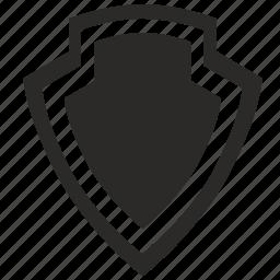 safety, shield, war, warrior icon