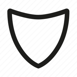 filled, security, shield icon