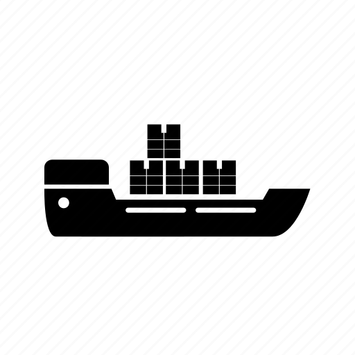 cargo, container icon, cruise, delivery, logistics, ship, shipping icon