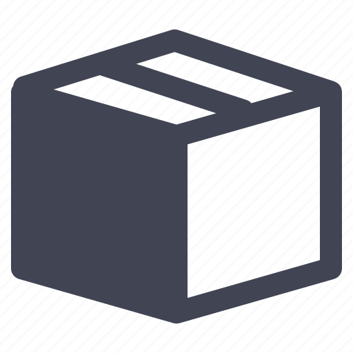 box, crate, delivery, package, shipping icon