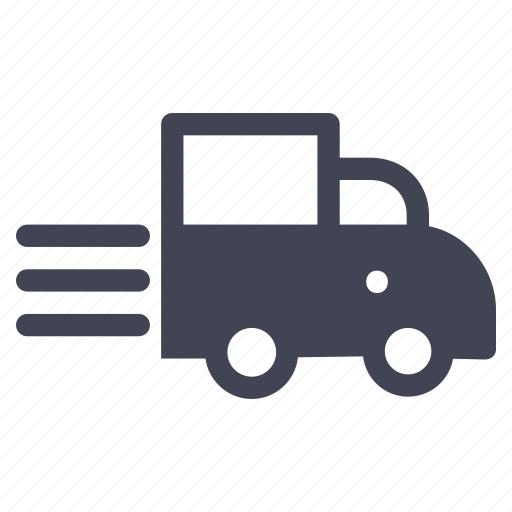 express, fast, shipping, transportation, vehicle icon