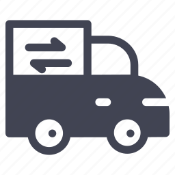 car, shipping, transport, transportation, truck, vehicle icon