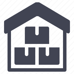 box, home, house, package, shipping, warehouse icon