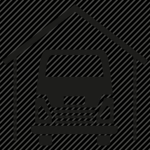 car, garage, logistics, transport icon