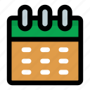 appointment, calendar, event, planner, timetable icon