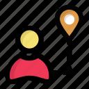 directory protocols, gps, internet locator, location access, user location icon