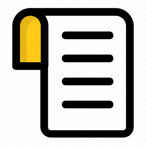 agreement, contract, document, file, record icon
