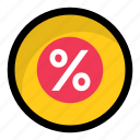 discount, math sign, percent, percentage, ratio icon