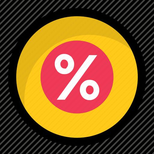 discount, math sign, percent, percentage, ratio icon