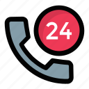 call center, helpline, hotline, support line, telephone icon