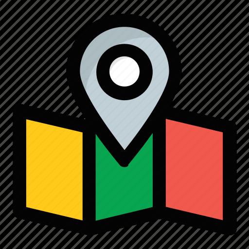 address navigator, location map, location pointer, map locationing, map marker icon