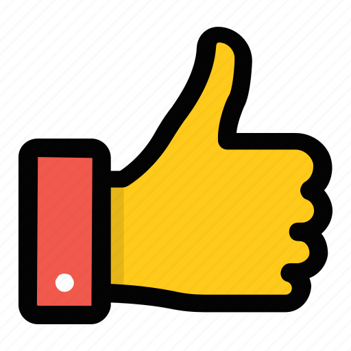 approval, best, hand gesture, like, thumbs up icon