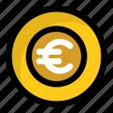 money, euro coin, cash, euro, finance