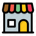 market, marketplace, shop, store, superstore icon