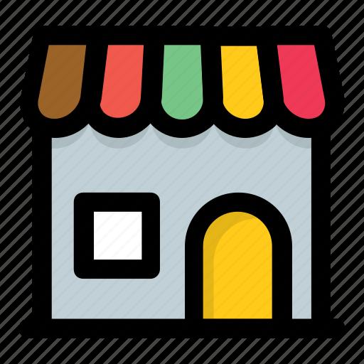 market, marketplace, shop, store, superstore icon