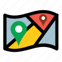 address navigator, location map, location pointer, map locationing, map marker icon