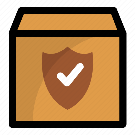 delivery protection, package protection, package security, secured delivery icon