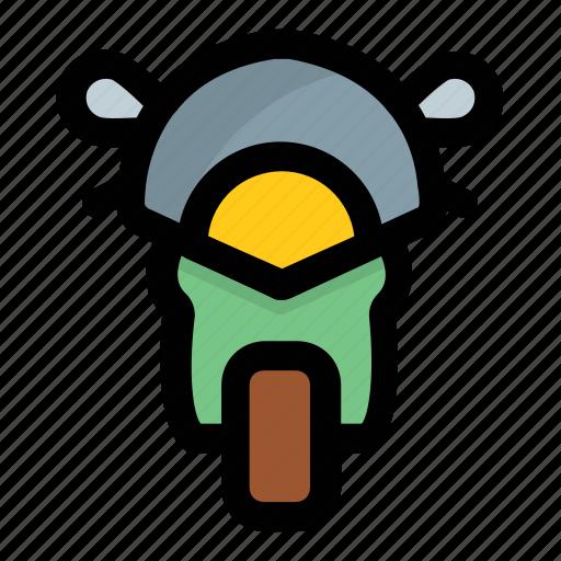 bike, motorbike, motorcycle, scooter, vespa icon