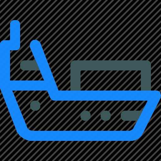 cargo, delivery, ship, shipping icon