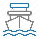 cargo, delivery, logistic, ship, shipping icon