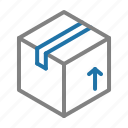 box, delivery, gift, logistic, shipping icon