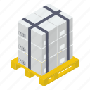 boxes, cardboards, packages, parcel storage, parcels icon