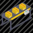 conveyor belt, package sorting, pallet logistics, product distribution, shipment handling