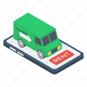 delivery truck, delivery van, logistic delivery, mobile delivery, online delivery icon