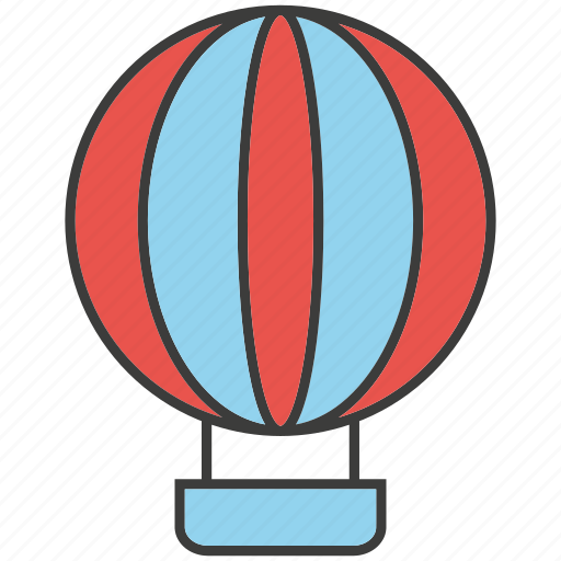 balloon, bump, float icon