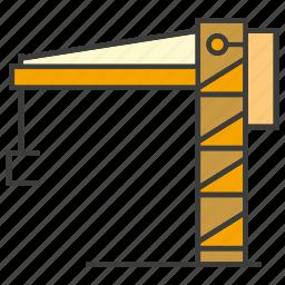 construction, crane, hang icon