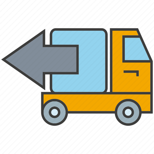 car, delivery, send, truck, vehicle icon