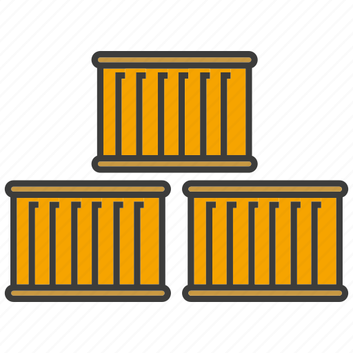 container, goods, shipping icon