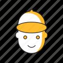 handyman, person, serviceman, staff icon