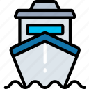 delivery, logistics, ship, shipping icon