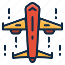 airplane, cargo, delivery, logistics, shipping icon