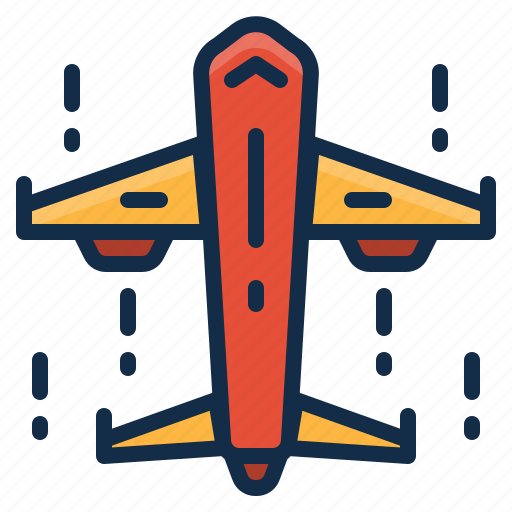 Airplane, cargo, delivery, logistics, shipping icon - Download on Iconfinder