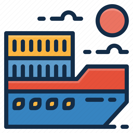 Cargo, delivery, logistics, ship, shipping icon - Download on Iconfinder