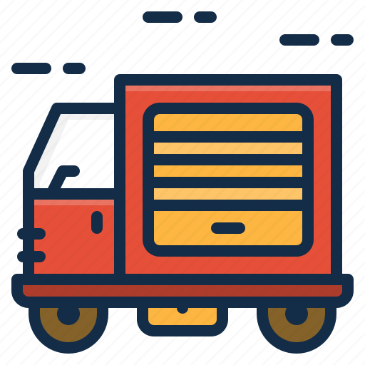 Cargo, delivery, logistics, shipping, transport, truck icon - Download on Iconfinder