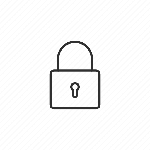lock, password, protection, safe, secure, security, shipping icon
