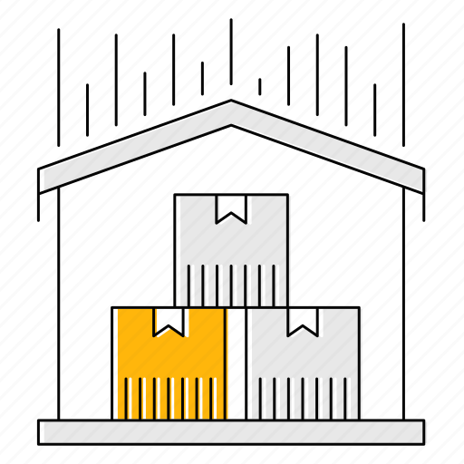 carriage, distribution, fast, logistics, transport, warehouse icon