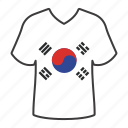 world, flag, south korea, country, national, shirt, flags icon