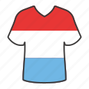 world, flag, country, national, luxembourg, shirt, flags icon