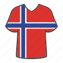 world, flag, country, national, norway, shirt, flags icon